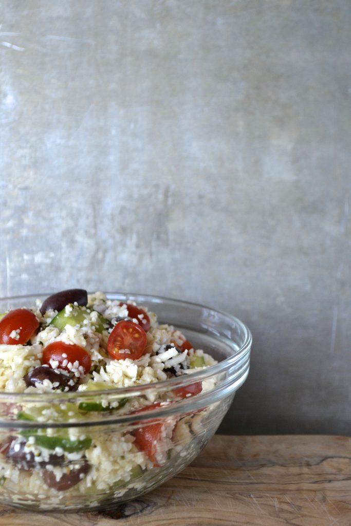 Greek Cauliflower Salad Recipe