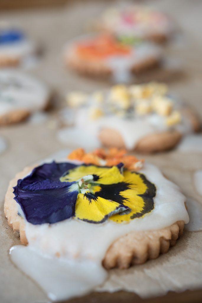 AIP Lavender Shortbread Cookies Recipe
