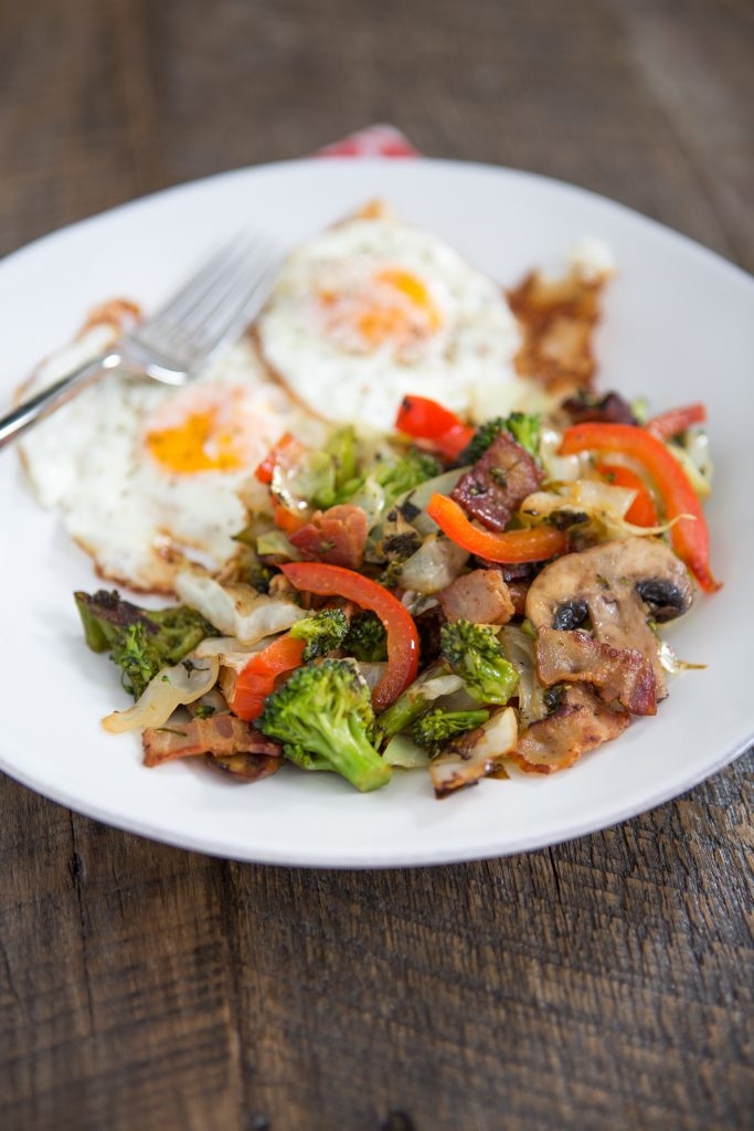 Breakfast Bacon Stir-Fry Recipe