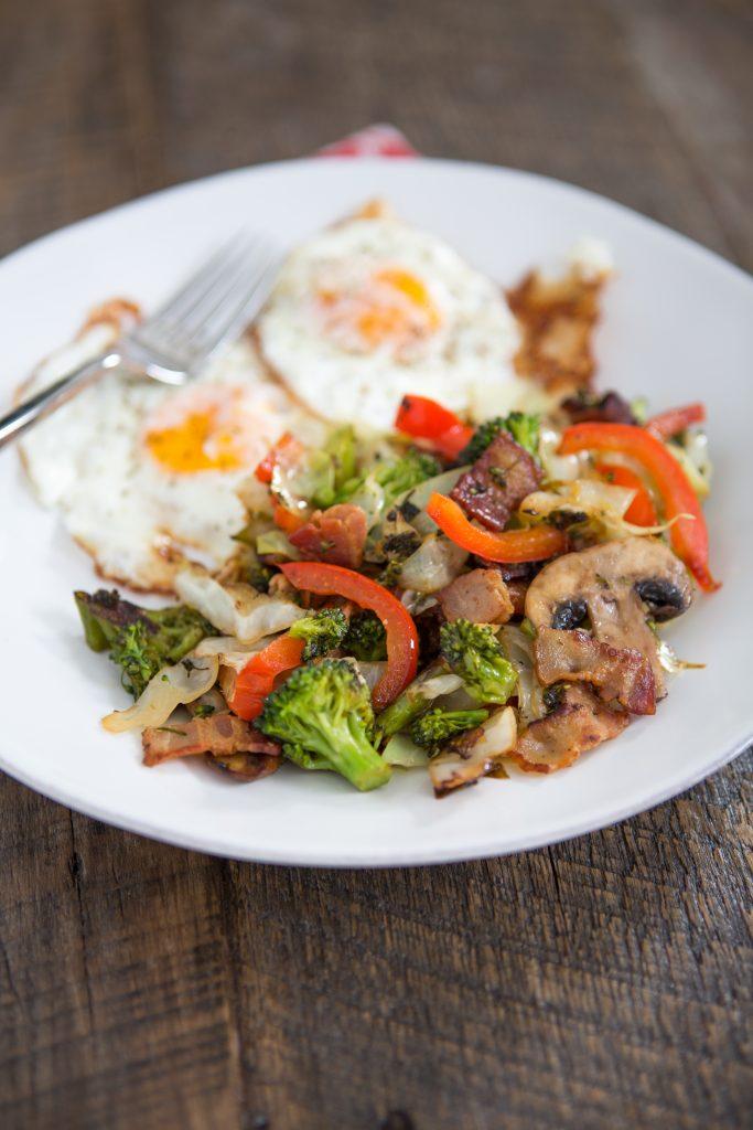 Breakfast Bacon Stir-Fry Recipe