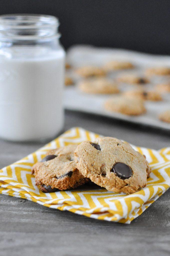 Dark Chocolate Chip Walnut Cookies | Fed+Fit