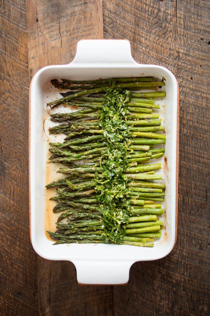 Asparagus with Gremolata Recipe