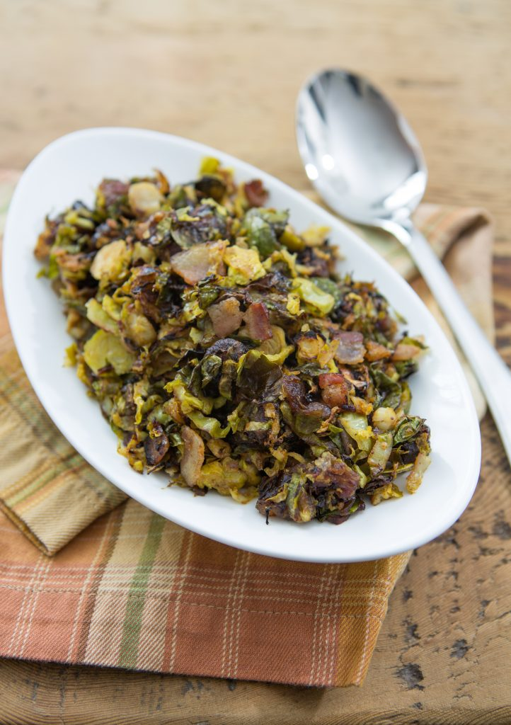 Brussels Sprouts with Bacon and Dates Recipe
