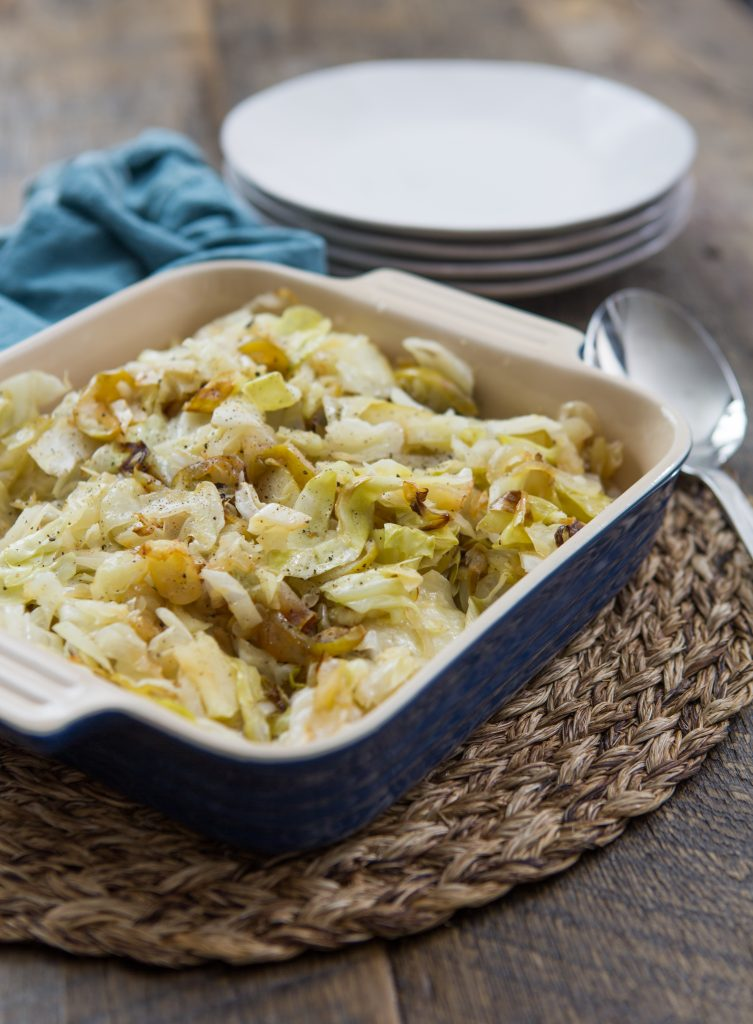 Cabbage with Onions and Apples Recipe