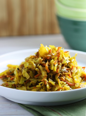 Ethiopian Cabbage by Katrina Runs for Food