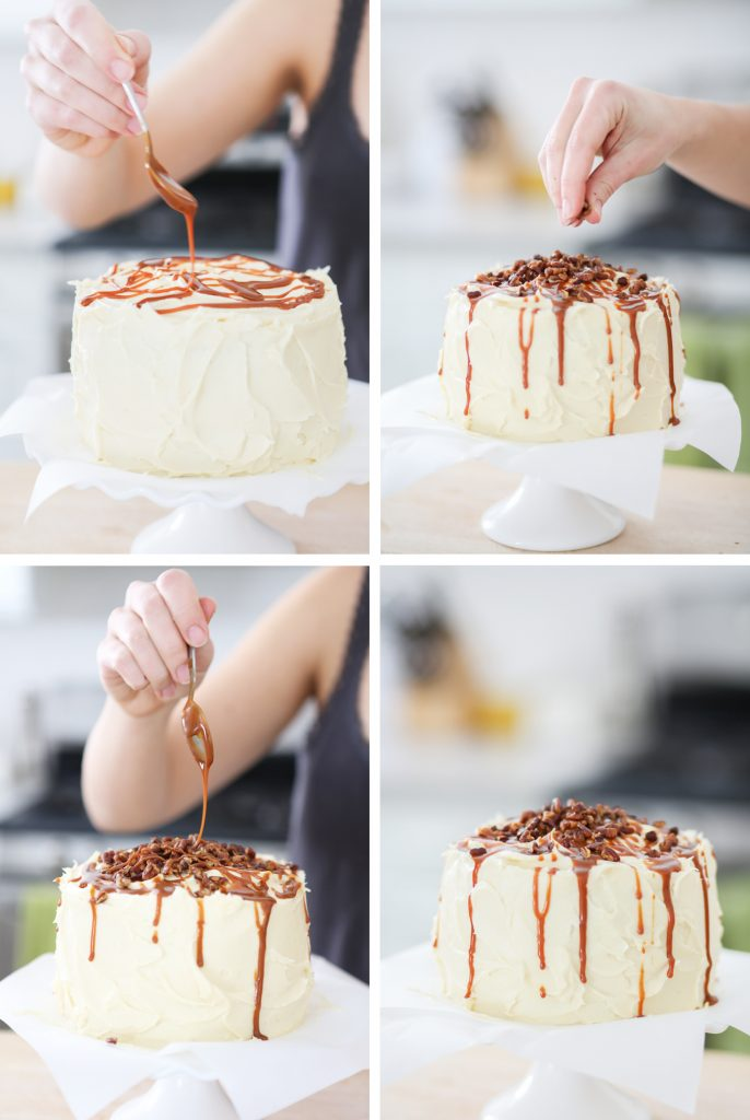 Paleo Carrot Cake Decoration - Primal Palate