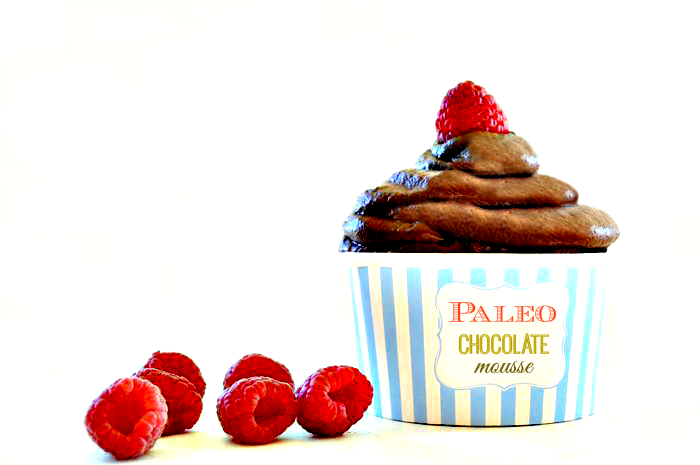 Paleo Chocolate Mousse from Make it Paleo II