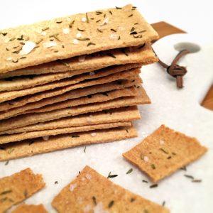 Paleo Onion Crackers