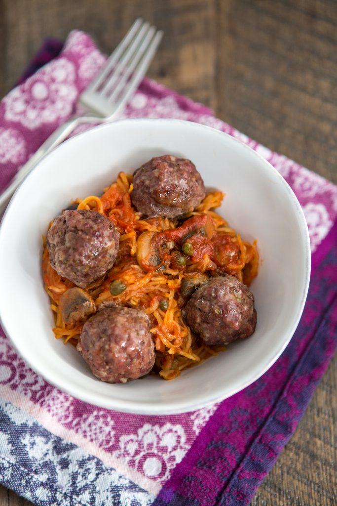 Pasta with Meatballs Recipe