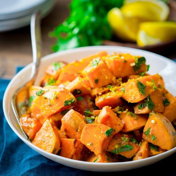Roasted Sweet Potatoes Reviewed by Healthy Seasonal Recipes