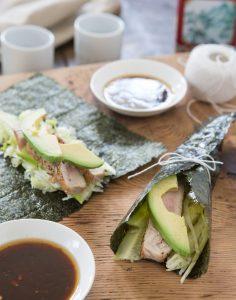 Sesame Tuna Wraps