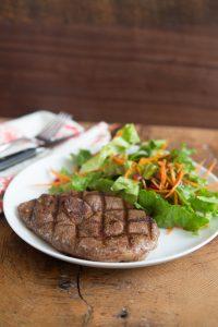 Spicy Cinnamon Lamb Steaks