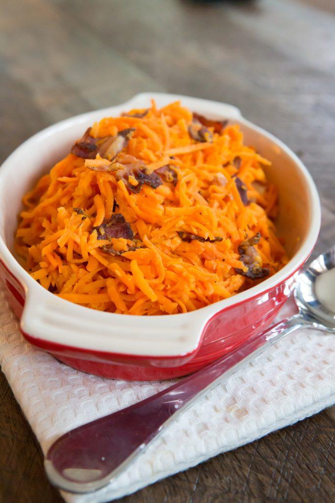 Bacon-y Sweet Potato Hash Recipe