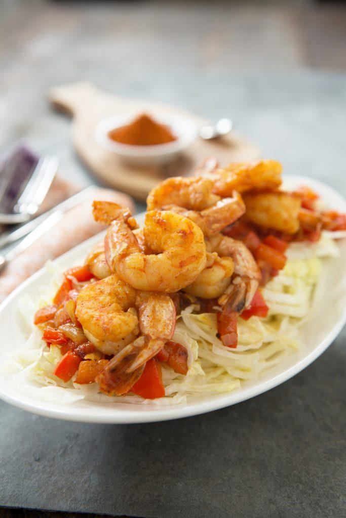 Tandoori Shrimp Stir-Fry Recipe