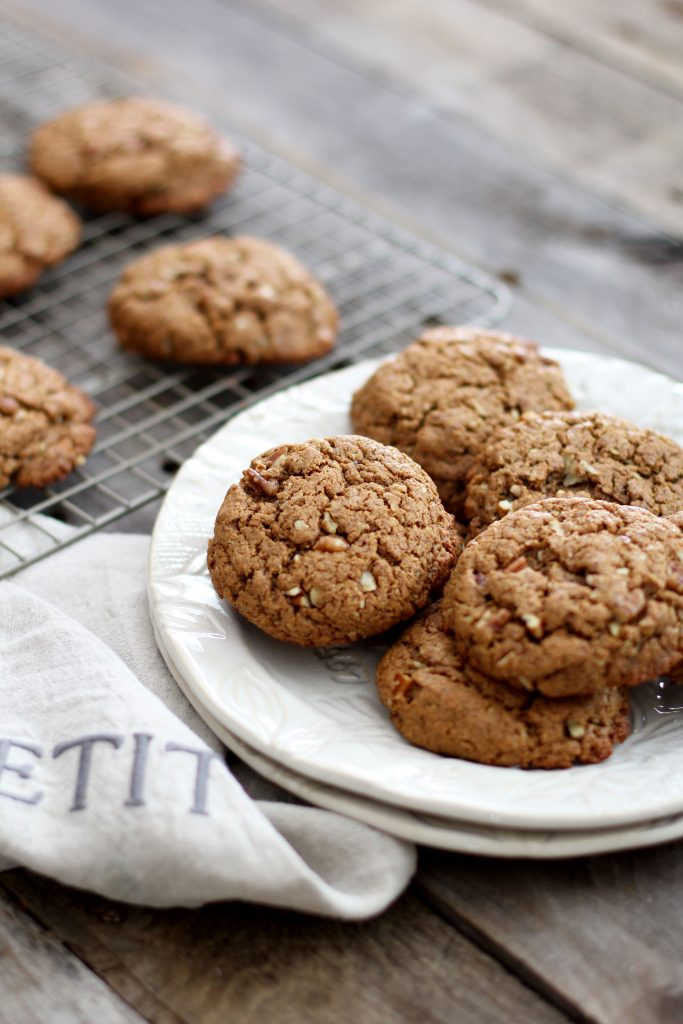 Almond Butter, Turmeric, and Ginger Cookies