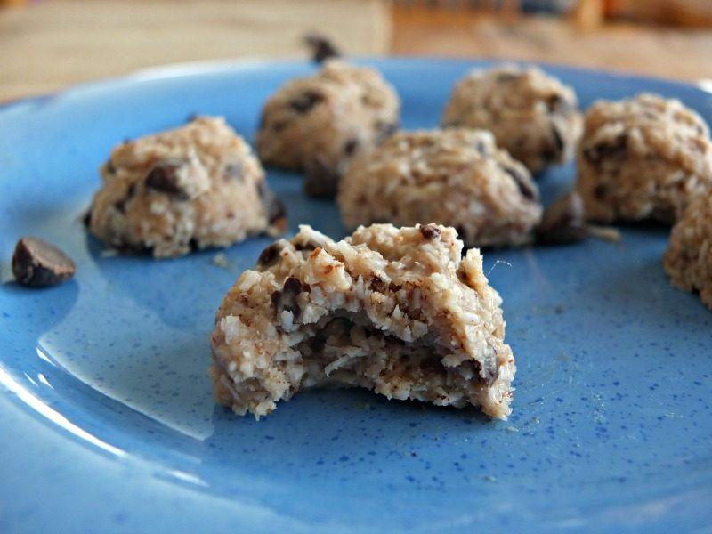 No-Bake Chocolate Chip Cookie Bites Recipe