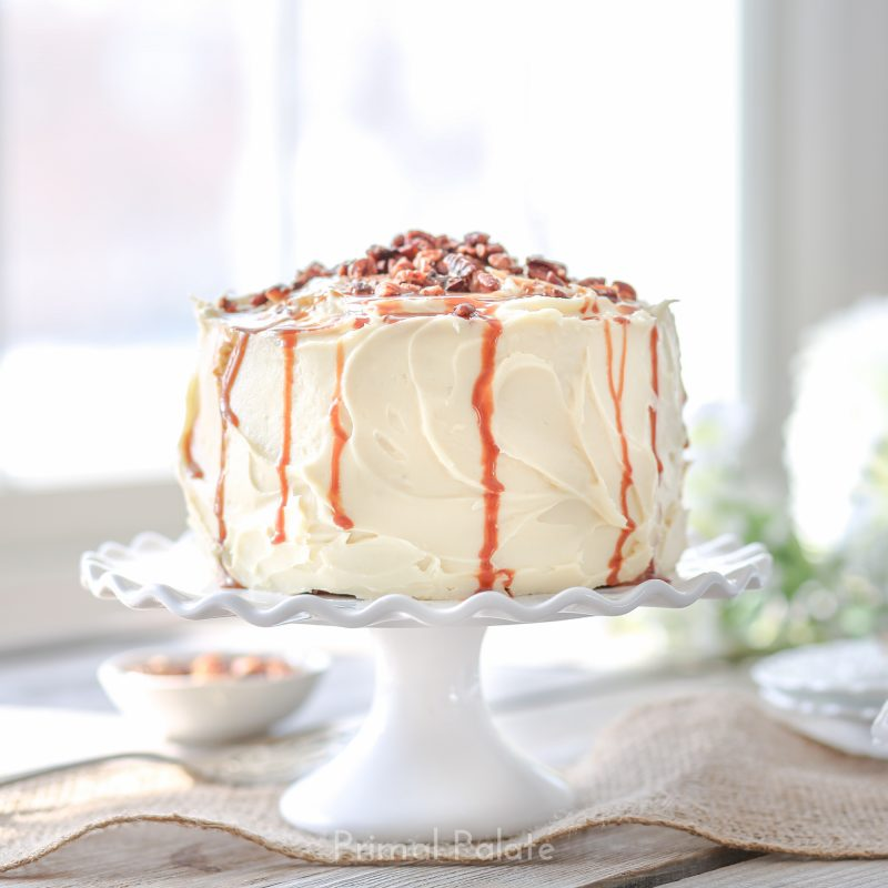 paleo grain-free carrot cake by primal palate-1