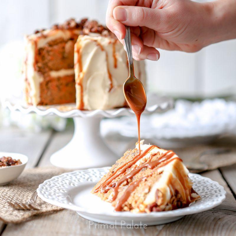 paleo grain-free carrot cake by primal palate-2