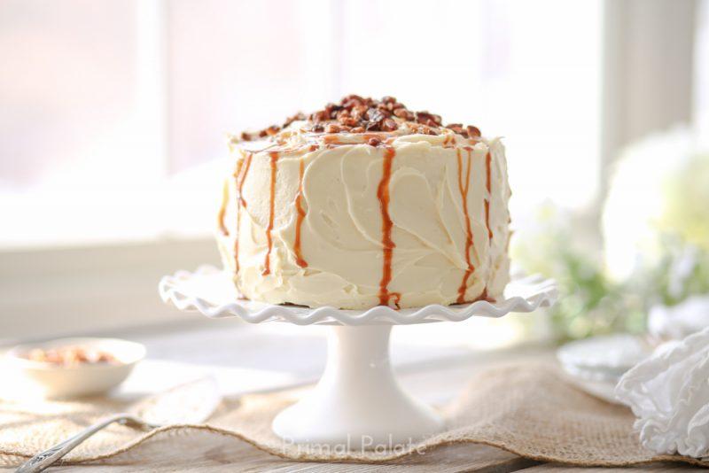 paleo grain-free carrot cake by primal palate-24