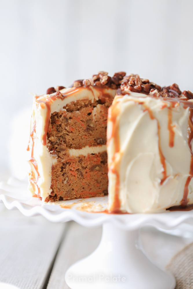 paleo grain-free carrot cake by primal palate-25