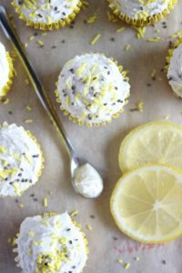 Lemon Chia Mini Muffins