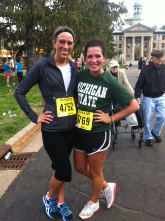 Katie's first 5k