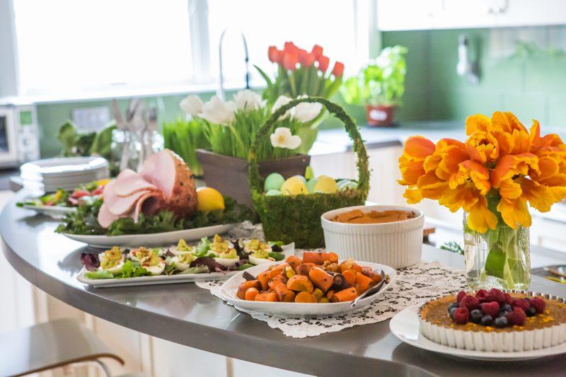 Gather Paleo Easter Menu Spread