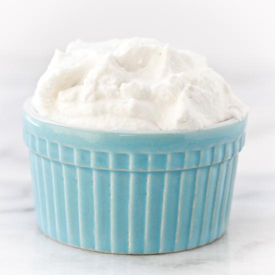 Simple Paleo Whipped Cream Recipe