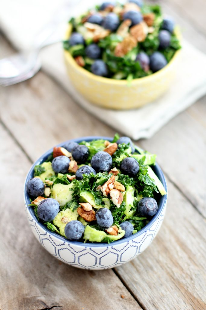Creamy Kale and Brussels Salad Recipe