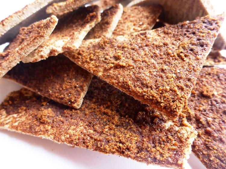 Paleo Cinnamon Pita Chips