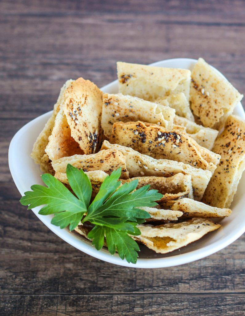 Grain-Free everything crackers