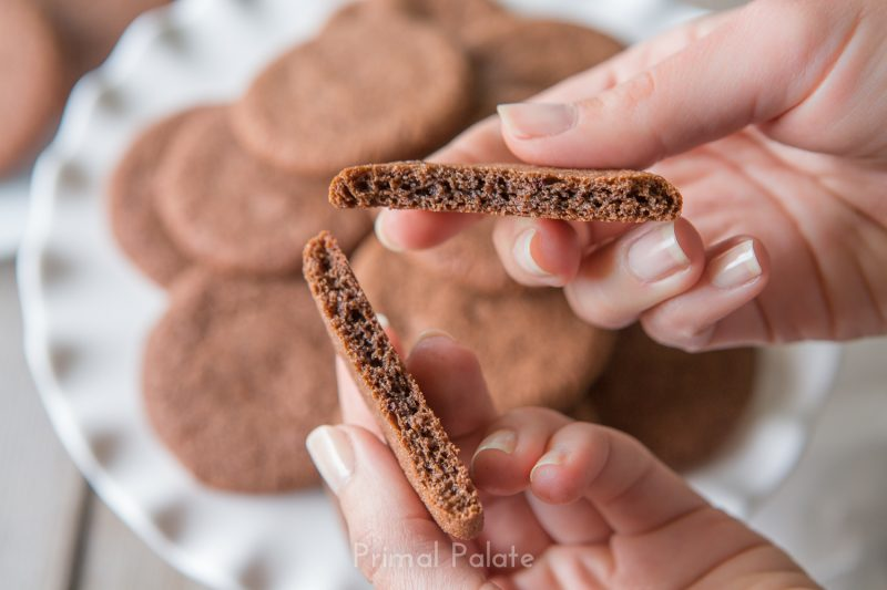 Crispy Chocolate Cookies Recipe
