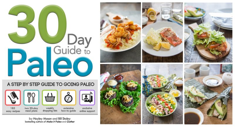 30 Day Guide To Paleo graphic