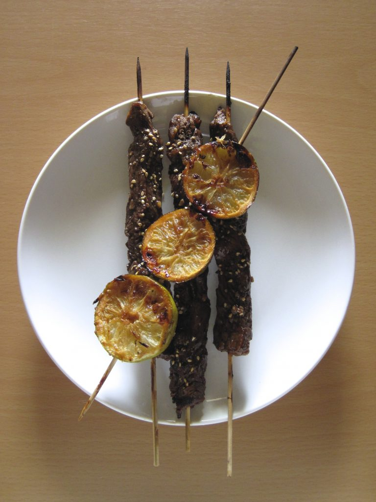 Tamarind Lime Beef Skewers Recipe