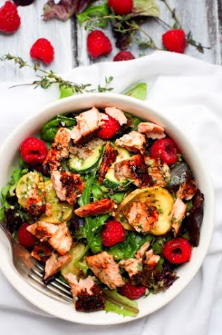 Salmon Salad Power Bowls Recipe