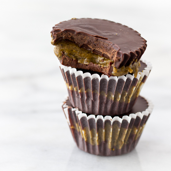 Protein Almond Butter Cups Recipe