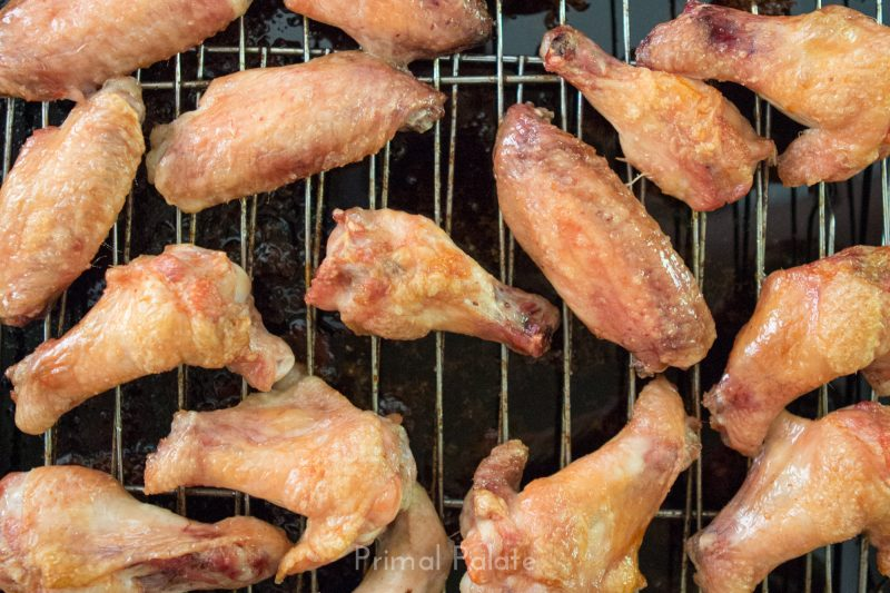 Paleo Sweet and Sticky Chicken Wings-9231