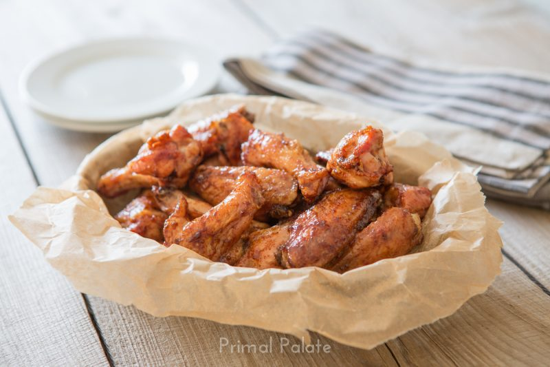Paleo Sweet and Sticky Chicken Wings-9263