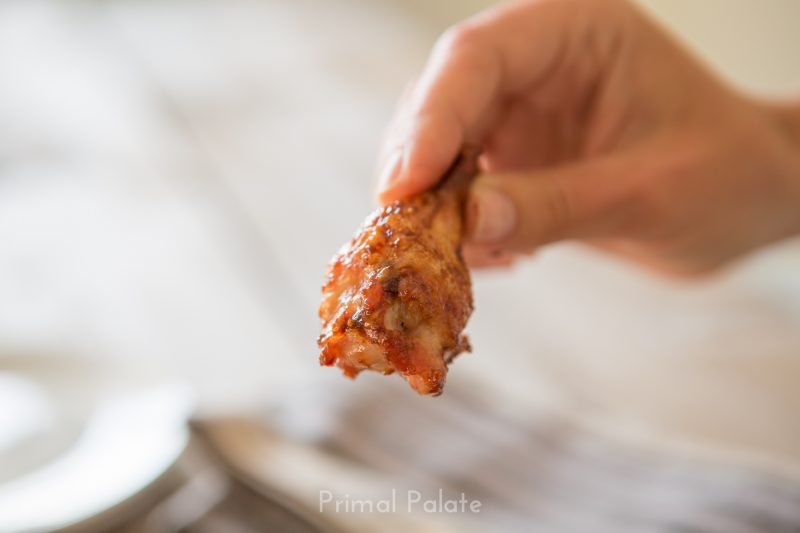 Paleo Sweet and Sticky Chicken Wings-9270