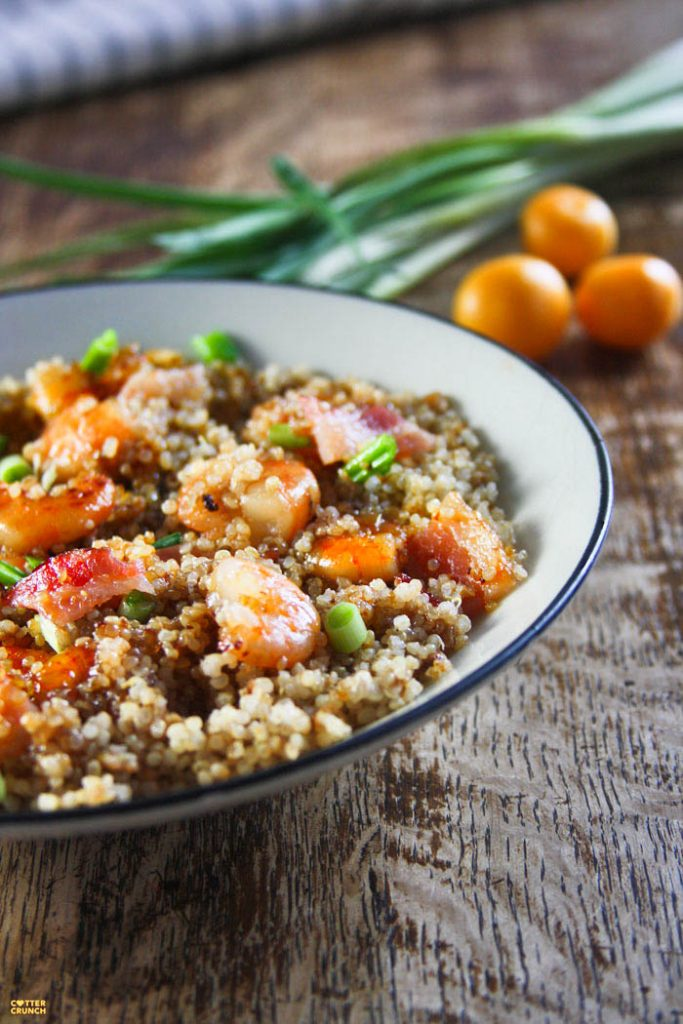 Apricot and Bacon Glazed Shrimp Recipe