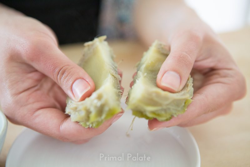 steamed artichoke | How to prepare an artichoke-29
