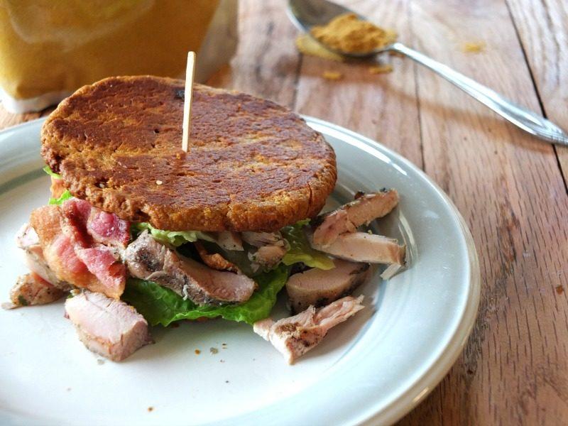 Sweet Potato Sandwich Thins