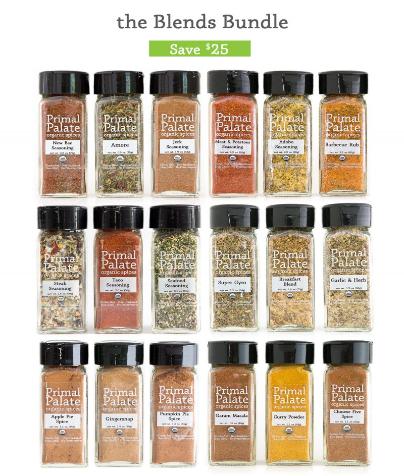 Organic Spices | Primal Palate | Paleo Recipes