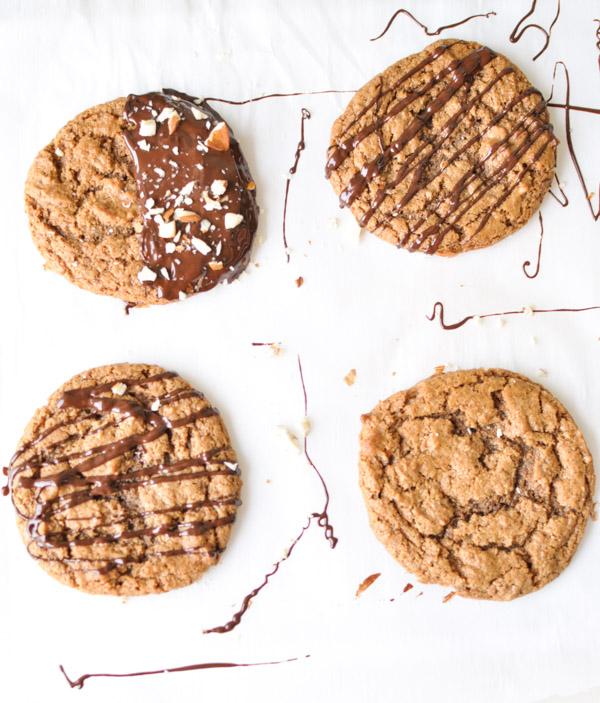 Flourless Almond Butter Cookies_