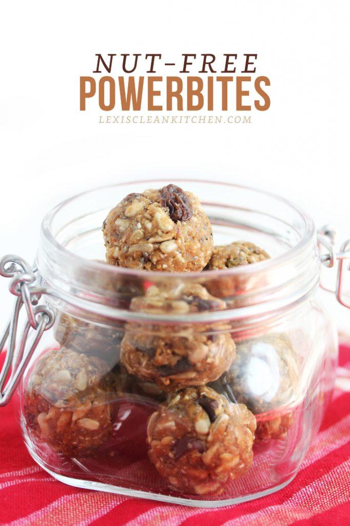 Nut Free Power Bites