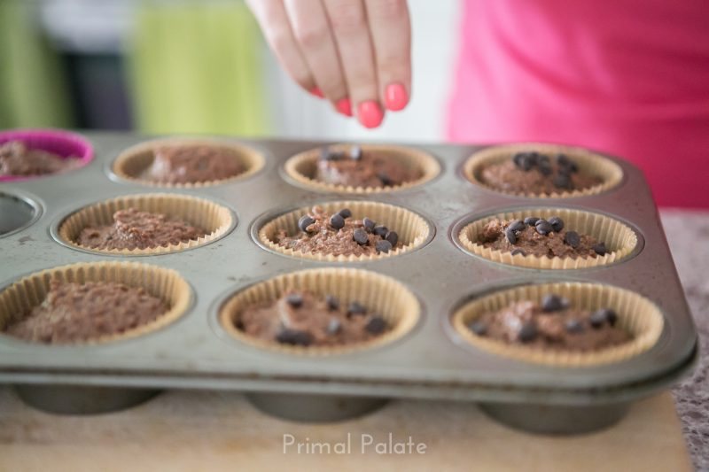 Paleo Double Chocolate Chip Muffins-7