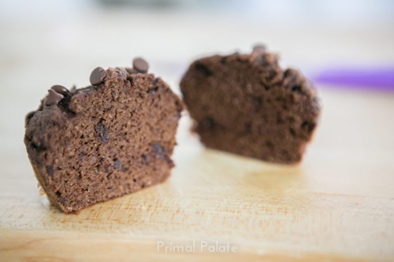 Paleo Double Chocolate Chip Muffins-8