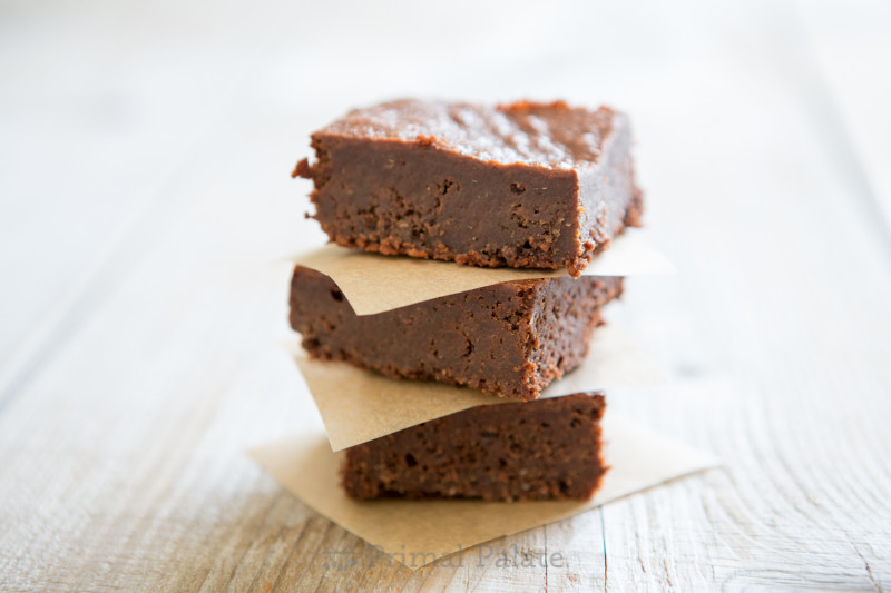 Paleo Nut-free Fudgy Brownies-10