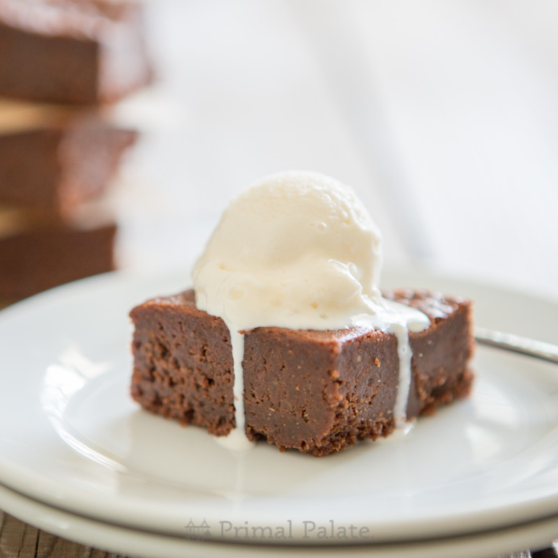 Paleo Nut-free Fudgy Brownies-16