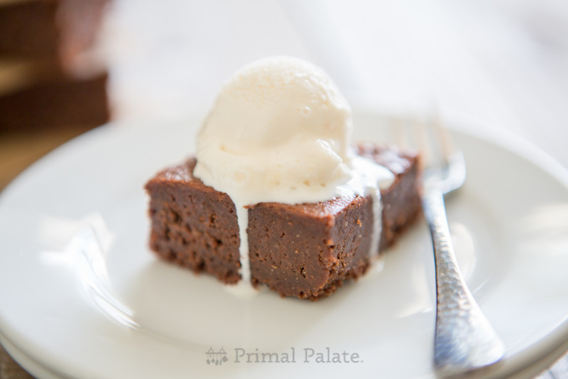 Paleo Nut-free Fudgy Brownies-17